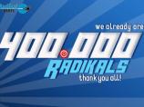 ニュースイメージ We already are 400.000 Radikals!